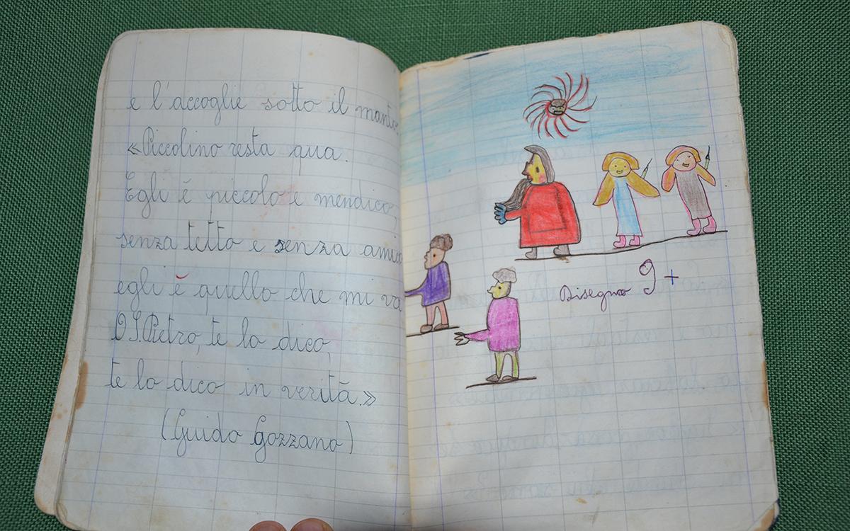 Quaderno della Scuola Elementare