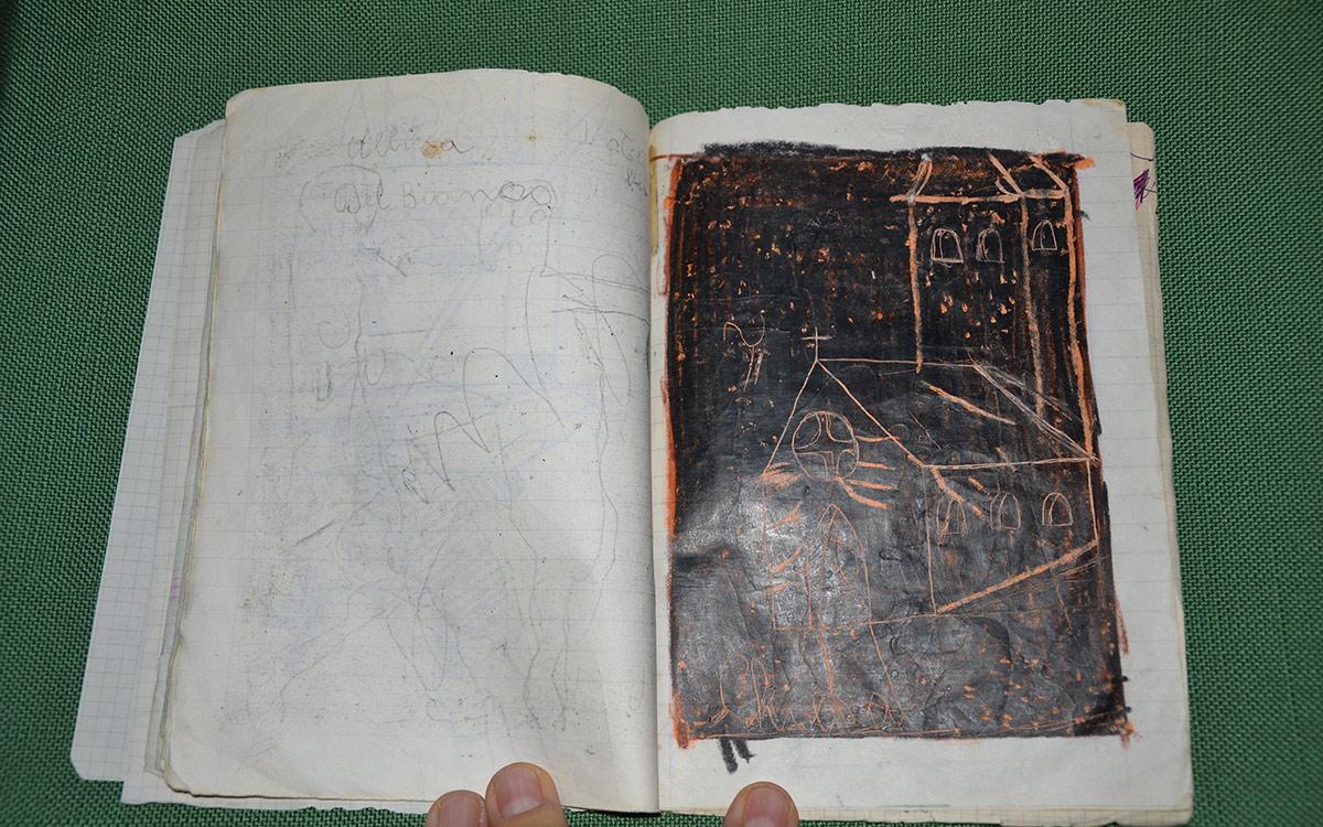 Quaderno V Elementare - Disegni