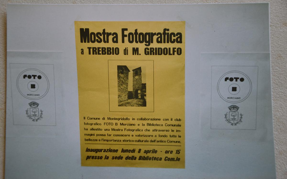 Manifesto Mostra Montegridolfo 1983-84
