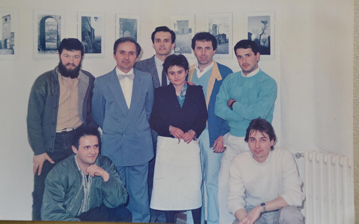 Inaugurazione Mostra Montegridolfo 1983-84 - parte 2