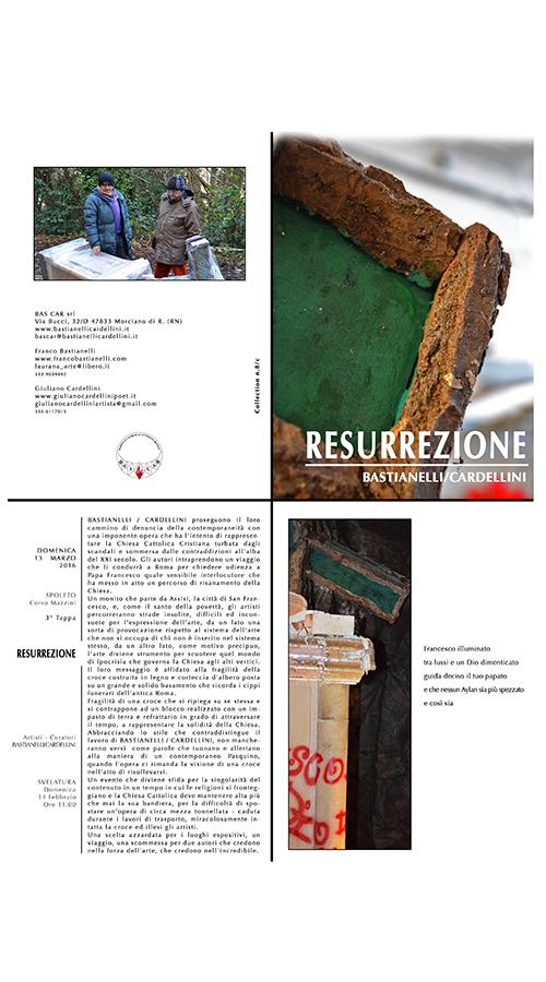 Mostra Resurrezione SPOLETO 3° tappa (2016)